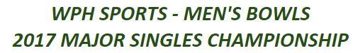2017 Men's Major Singles update
