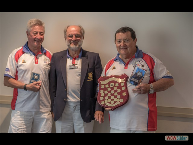 John Leonard, Gary Tyrrell and Les Watkins (Minor Pairs)