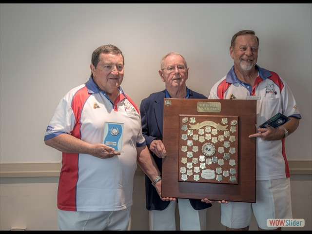Les Watkins, Rod Roberts and Kevin Tuckerman (Major Pairs)