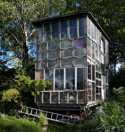 Design Squish Blog RECYCLED WINDOWS GLASS HOUSE