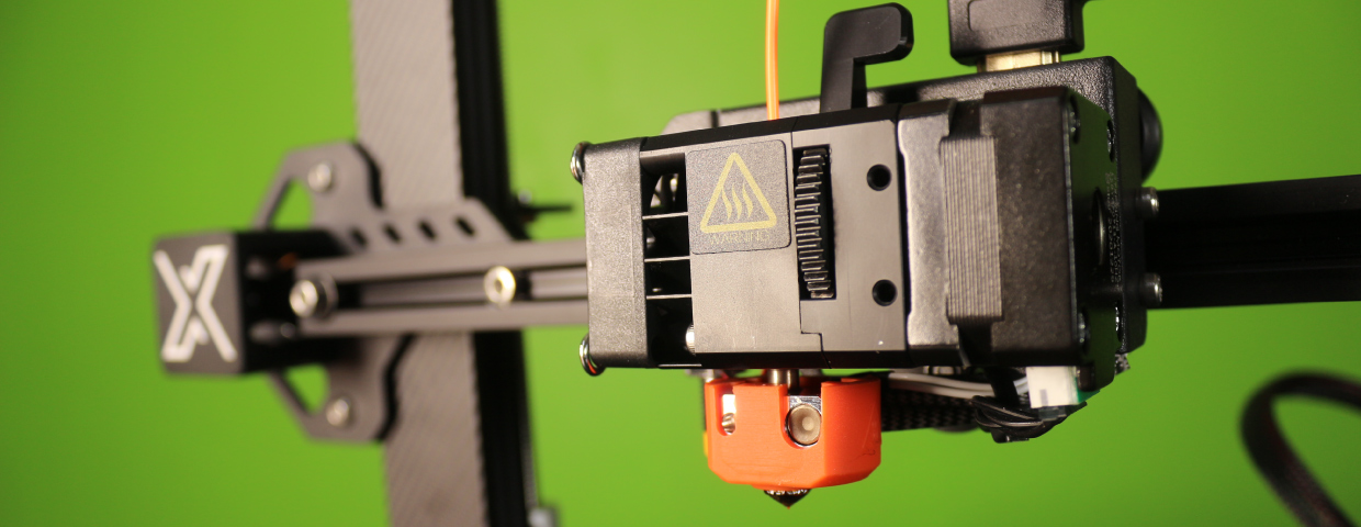 H2 direct drive extruder/hotend assembly