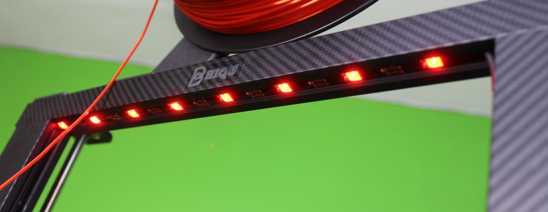 LED strip on the 3D Printer
