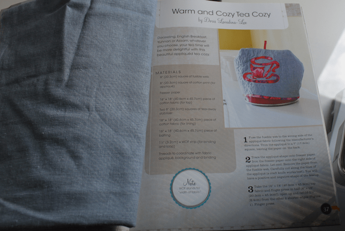 Warm and Cozy Tea Cozy page