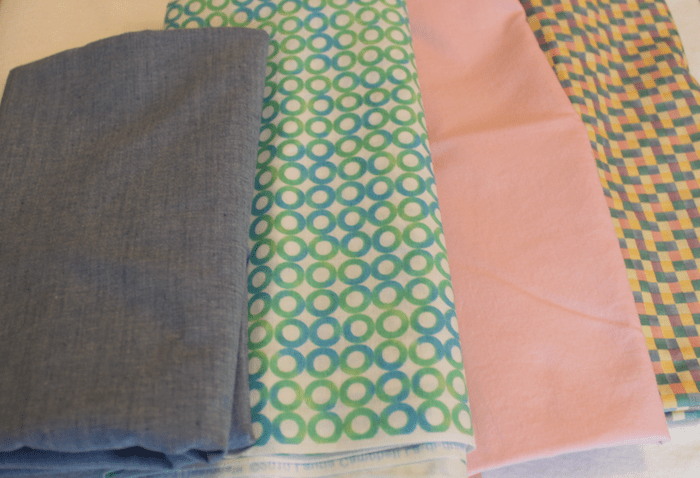 Selection of cotton backings