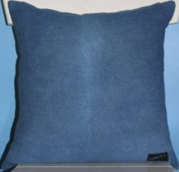 Indigo Ombre pillow back