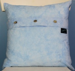 Indigo Ombre angle pillow back