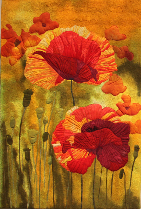 Poppies Aglow II by Carolynn McMillan, Burlington, ON