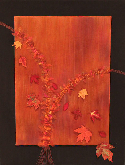 Falling Leaves by Anne Solomon, Etobicoke, ON