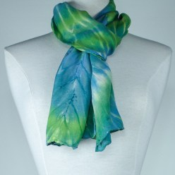 natural fibre scarf hand dyed in toronto canada