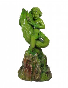 19th Century Majolica Figure