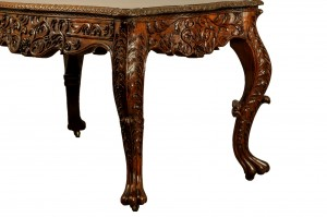 Anglo Indian Library Table