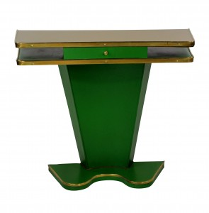 Leather Console