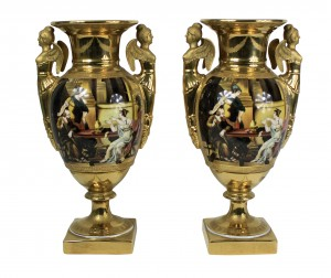 Ground Gold Vases
