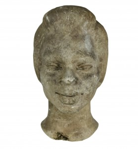 Head Of An African Lady