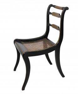Painted Regency Chairs