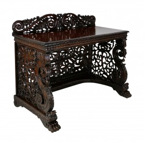 Anglo Indian Serving Table