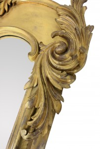 Monumental Antique Mirror
