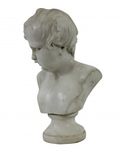 Marble Bust Of A Boy