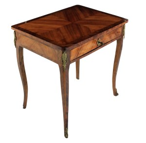 French Tulip Wood Table