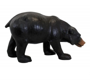 Leather Toy Bear