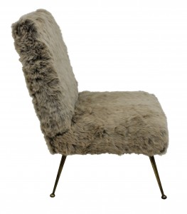 Fur chair