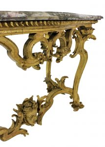 George II Gilt Wood Console