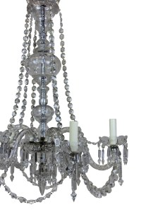 Cut Glass Chandelier