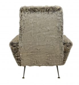 Fur Covered Chairs