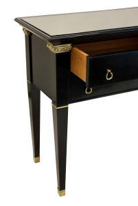 Ebonised Console