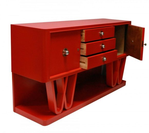 Red Credenza