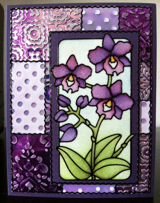 Flowers in Frame Peel-Off and Shimmer Sheetz
