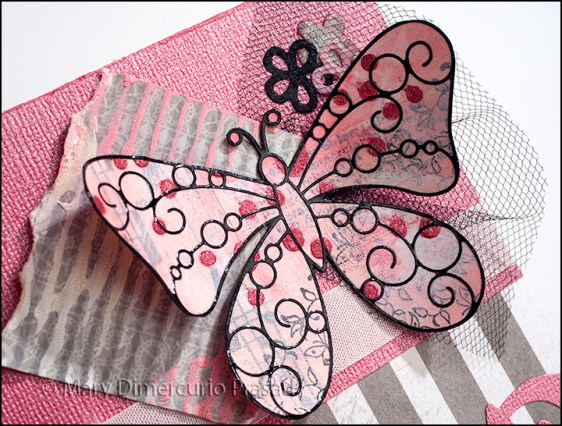 Card Front Butterfly