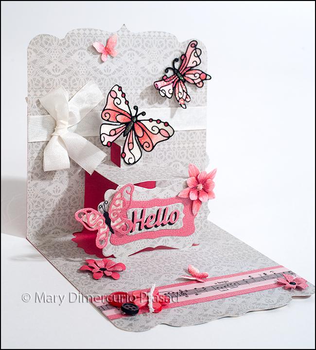 Card Inside Angled