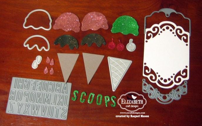 ECD Ice Cream pieces