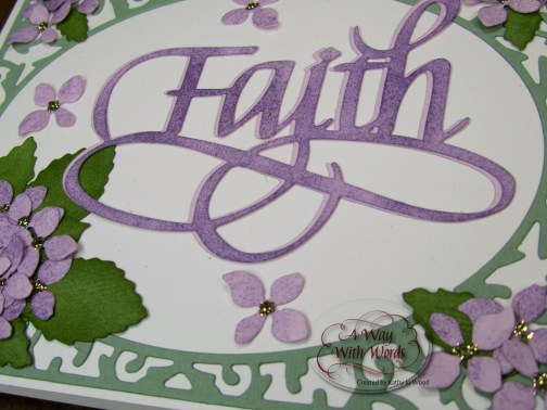 Elizabeth Craft Designs Suzanne Cannon Way with words Faith 4