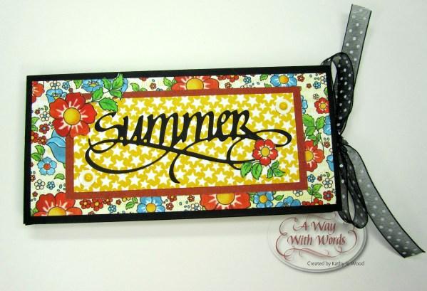 Elizabeth Craft Designs Suzanne Cannon Summer Graphic 45 mini album summer Mother Goose Kathy Jo Wood 1