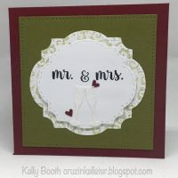 Pop It Ups Wednesday with Kelly and a Wedding Card