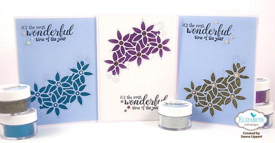 Sanna Lippert - Glitter Christmas cards