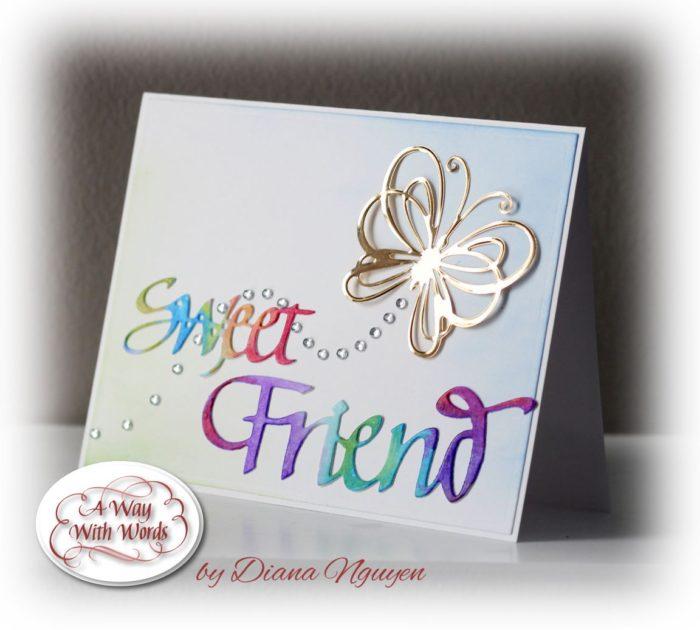 Sweet Friend by Diana Nguyen