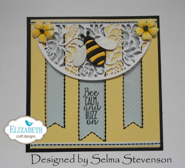 Negative Die Cut Card by Selma Stevenson