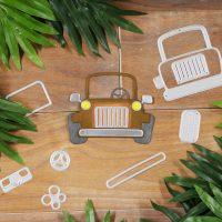 Technique Friday –– Assembling The Safari Jeep