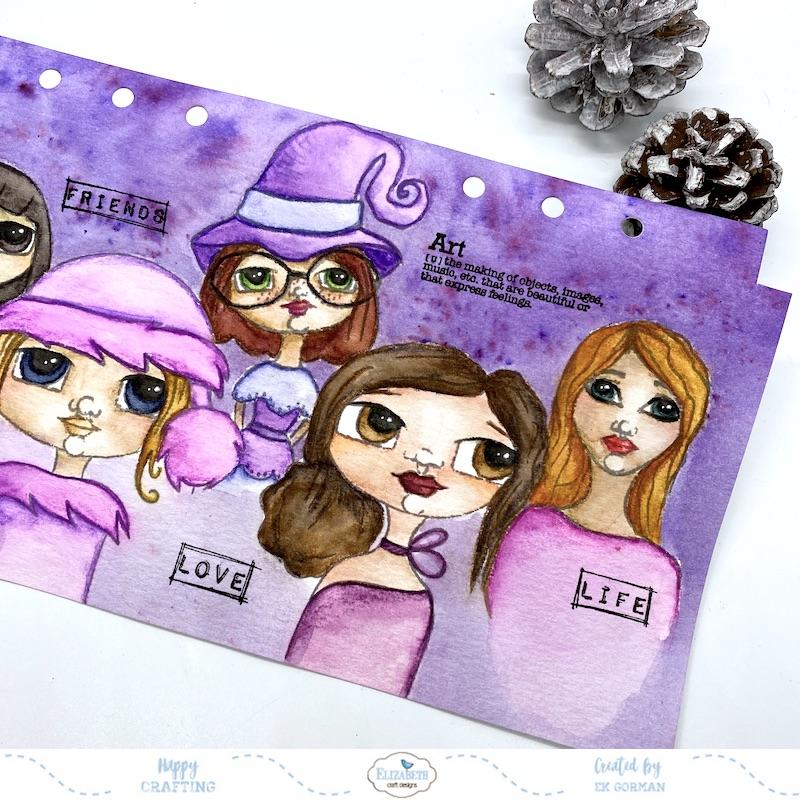 EK Gorman, Elizabeth Craft Designs, Ladies cover a