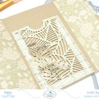 Folded Leaf Pocket Gift Card