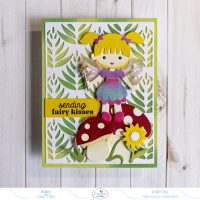 Sending Fairy Kisses Card