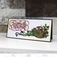 AWWW Christmas Slimline Card