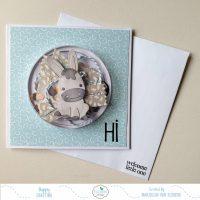 A cute birth card