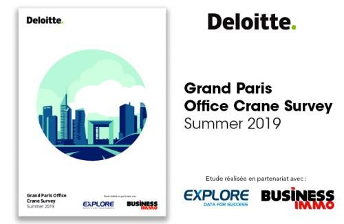 Grand Paris Office Crane Survey Summer 2019