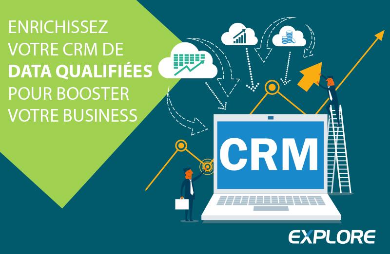 CRM enrichi, data qualifiées, business boosté !