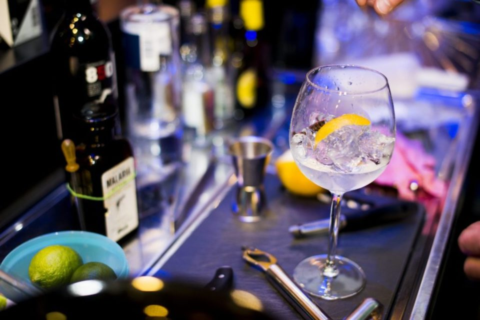 Gin Tasting Comme Chez Soif