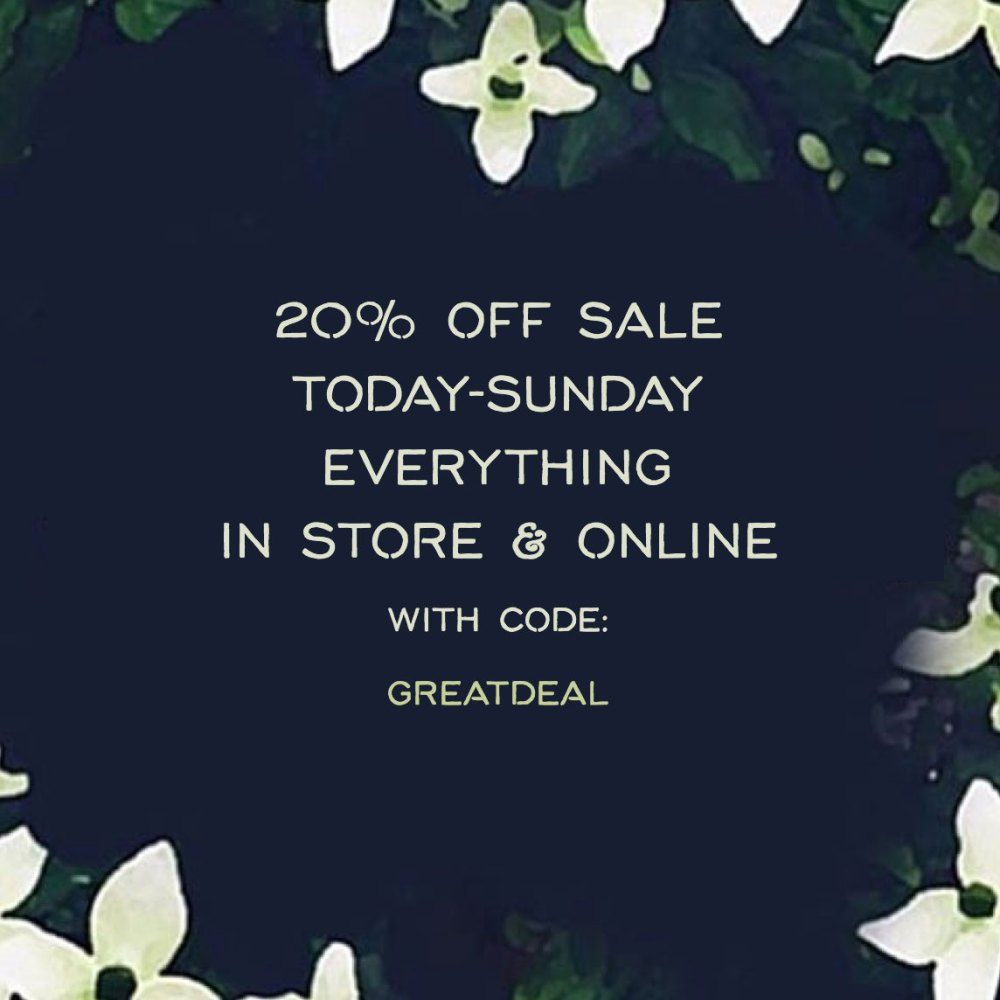 20% off at Gather